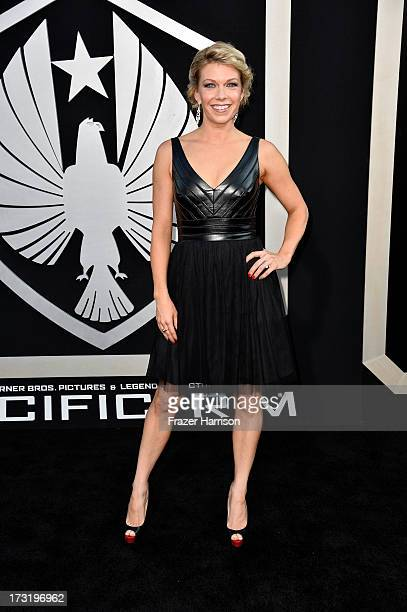 Actress Mary Elizabeth Ellis arrives at the premiere of Warner Bros Pictures' and Legendary Pictures' Pacific Rim at Dolby Theatre on July 9 2013 in...