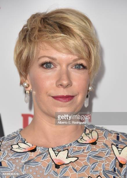 Actress Mary Elizabeth Ellis attends the premiere Netflix's Santa Clarita Diet at ArcLight Cinemas Cinerama Dome on February 1 2017 in Hollywood...