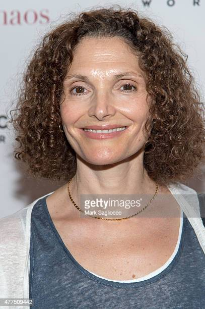 Actress Mary Elizabeth Mastrantonio attends A Little Chaos New York Premiere at the Museum of Modern Art on June 17 2015 in New York City