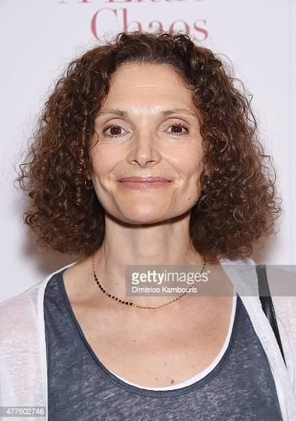 Actress Mary Elizabeth Mastrantonio attends the New York Premiere of A Little Chaos at Museum of Modern Art on June 17 2015 in New York City