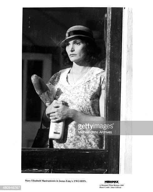Actress Mary Elizabeth Mastrantonio in a scene from the Miramax movie Two Bits circa 1995