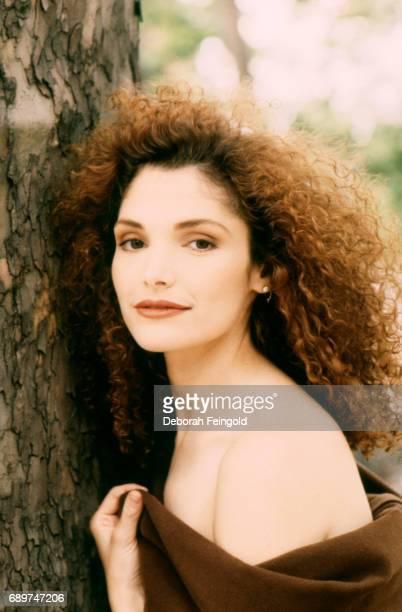 Actress Mary Elizabeth Mastrantonio poses for a portrait in 1989 in New York City New York