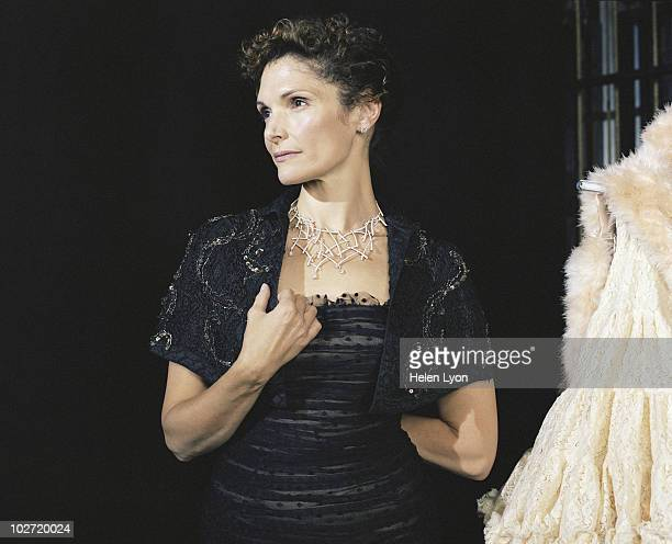 Actress Mary Elizabeth Mastrantonio poses for a portrait shoot in London UK