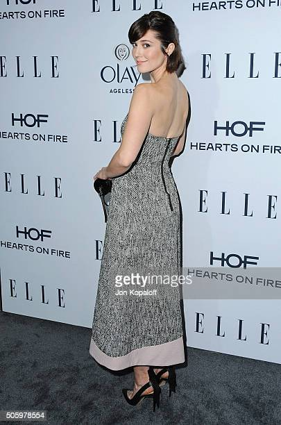 Actress Mary Elizabeth Winstead arrives at ELLE's 6th Annual Women In Television Dinner at Sunset Tower Hotel on January 20, 2016 in West Hollywood,...