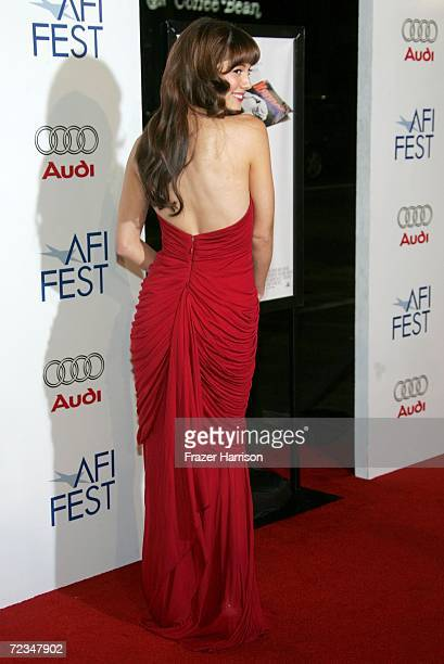 Actress Mary Elizabeth Winstead arrives at the AFI FEST presented by Audi opening night gala of Bobby at the Grauman's Chinese Theatre on November 1...