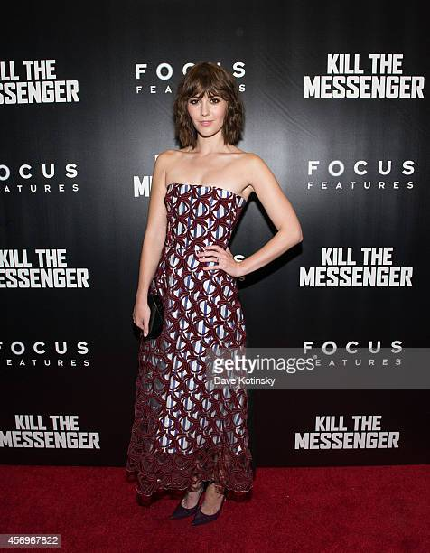 """Actress Mary Elizabeth Winstead arrives at the """"Kill The Messenger"""" New York Screening at Museum of Modern Art on October 9, 2014 in New York City."""