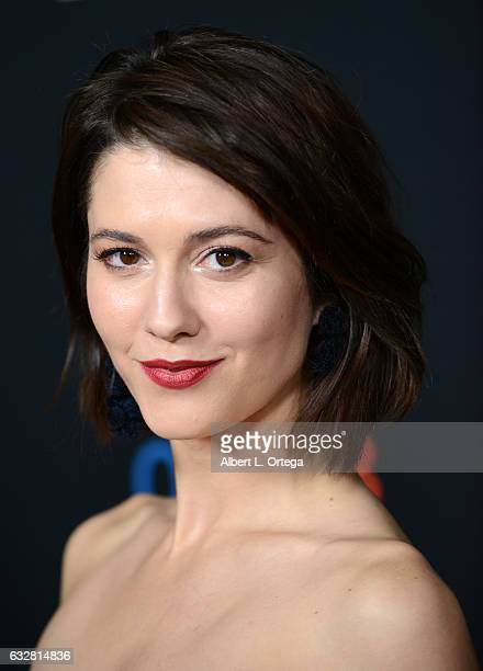 Actress Mary Elizabeth Winstead arrives for the Premiere Of FX's Legion held at Pacific Design Center on January 26 2017 in West Hollywood California