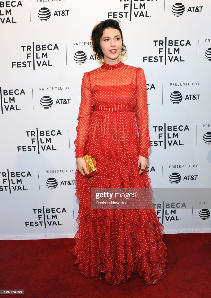 Actress Mary Elizabeth Winstead attends 2018 Tribeca Film Festival - 'All About Nina' at SVA Theater on April 22, 2018 in New York City.