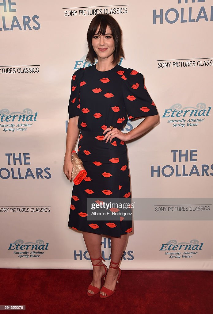 "Premiere Of Sony Pictures Classics' ""The Hollars"" - Arrivals : News Photo"