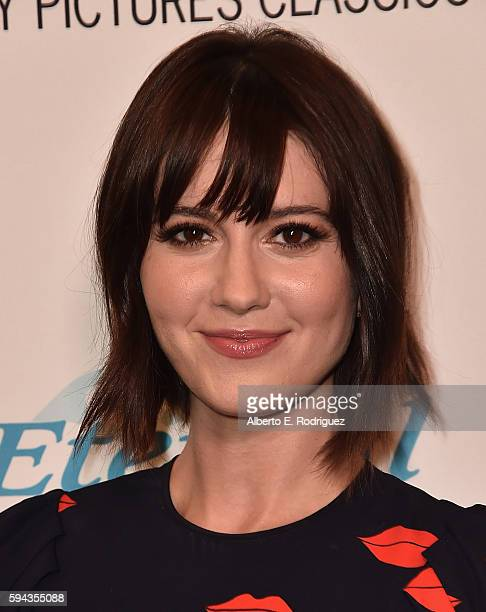 """Actress Mary Elizabeth Winstead attends a Los Angeles Special Presentation of Sony Pictures Classics' """"The Hollars"""" at Linwood Dunn Theater on August..."""