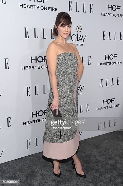 Actress Mary Elizabeth Winstead attends ELLE's 6th Annual Women In Television Dinner at Sunset Tower Hotel on January 20 2016 in West Hollywood...
