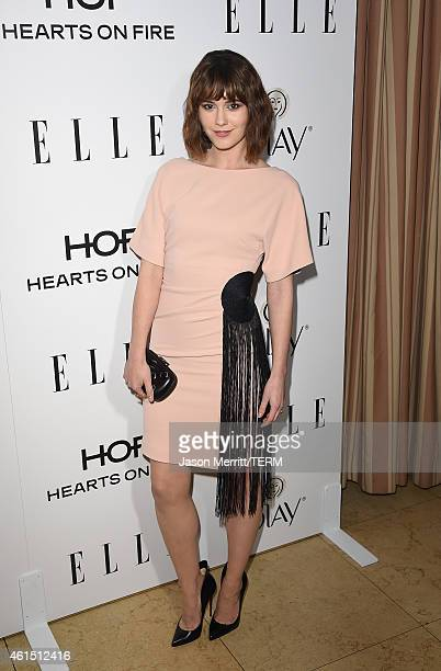 Actress Mary Elizabeth Winstead attends ELLE's Annual Women in Television Celebration on January 13 2015 at Sunset Tower in West Hollywood California...