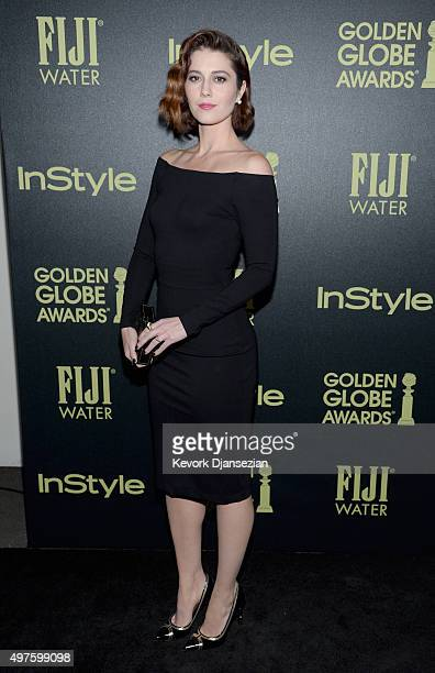 Actress Mary Elizabeth Winstead attends Hollywood Foreign Press Association and InStyle Celebration of The 2016 Golden Globe Award Season at Ysabel...