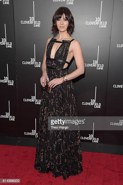 Actress Mary Elizabeth Winstead attends the '10 Cloverfield Lane' New York premiere at AMC Loews Lincoln Square 13 theater on March 8 2016 in New...