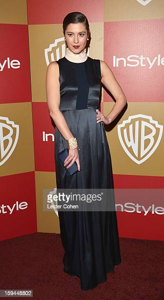 Actress Mary Elizabeth Winstead attends the 2013 InStyle and Warner Bros 70th Annual Golden Globe Awards PostParty held at the Oasis Courtyard in The...