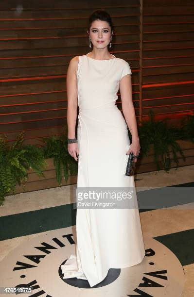 Actress Mary Elizabeth Winstead attends the 2014 Vanity Fair Oscar Party hosted by Graydon Carter on March 2 2014 in West Hollywood California