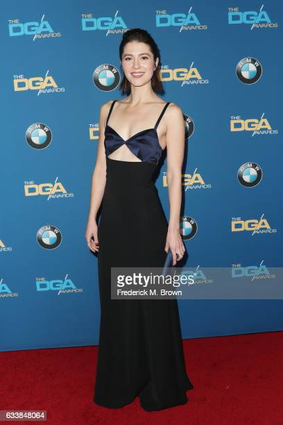 Actress Mary Elizabeth Winstead attends the 69th Annual Directors Guild of America Awards at The Beverly Hilton Hotel on February 4 2017 in Beverly...