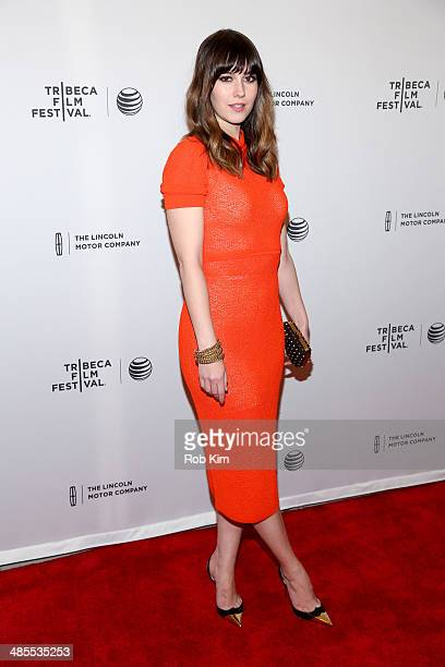 Actress Mary Elizabeth Winstead attends the Alex of Venice Premiere during the 2014 Tribeca Film Festival at SVA Theater on April 18 2014 in New York...