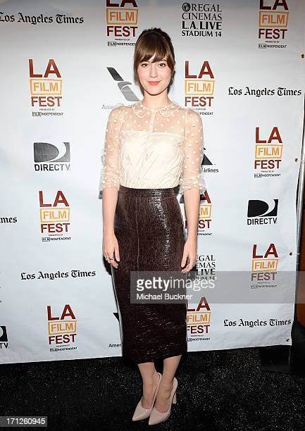 Actress Mary Elizabeth Winstead attends the Awards Brunch during the 2013 Los Angeles Film Festival at Chaya Downtown on June 23 2013 in Los Angeles...
