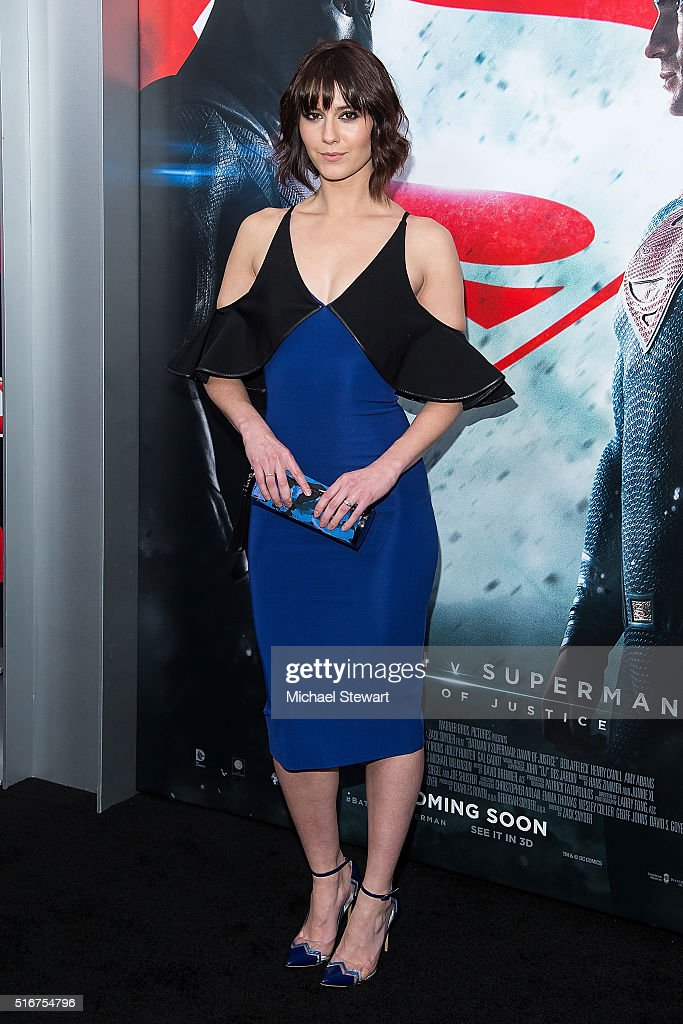 Actress Mary Elizabeth Winstead attends the 'Batman V Superman: Dawn Of Justice' New York premiere at Radio City Music Hall on March 20, 2016 in New York City.