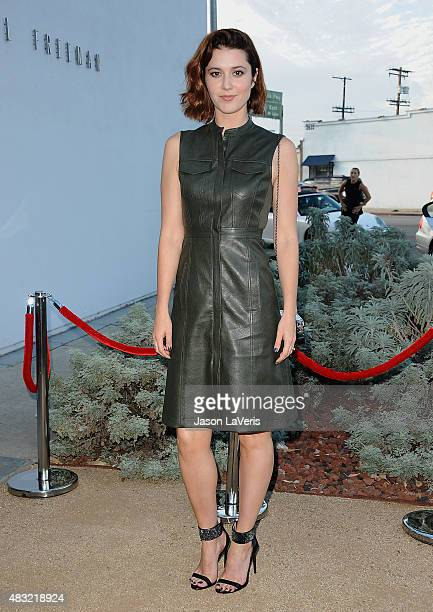 Actress Mary Elizabeth Winstead attends the BCBG Max Azria Resort 2016 collections at Samuel Freeman Gallery on August 6 2015 in Los Angeles...