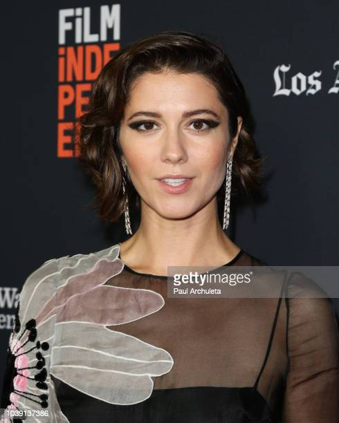 Actress Mary Elizabeth Winstead attends the screening of All About Nina at the 2018 LA Film Festival at Wallis Annenberg Center for the Performing...