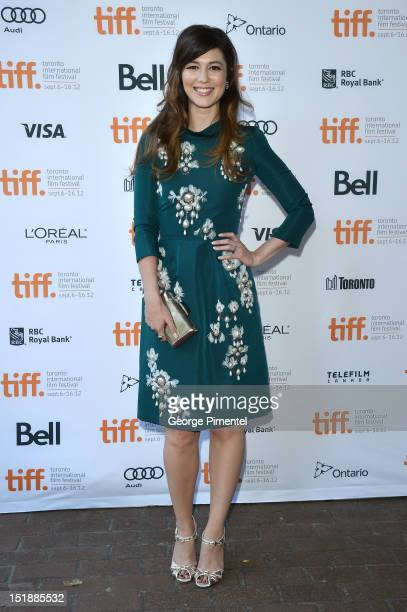 Actress Mary Elizabeth Winstead attends the Smashed Premiere during 2012 Toronto International Film Festival at Ryerson Theatre on September 12 2012...
