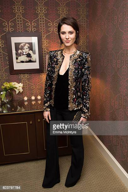 Actress Mary Elizabeth Winstead attends the Zuhair Murad cocktail party at Sunset Tower Hotel on November 16 2016 in West Hollywood California