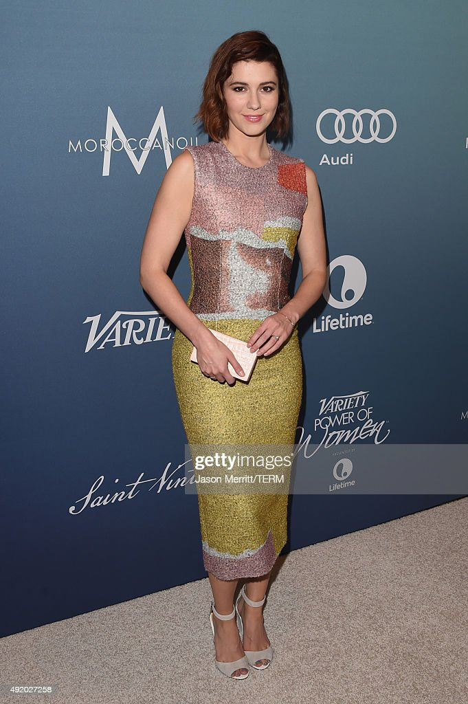 Actress Mary Elizabeth Winstead attends Variety's Power Of Women Luncheon at the Beverly Wilshire Four Seasons Hotel on October 9, 2015 in Beverly Hills, California.