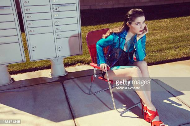 Actress Mary Elizabeth Winstead is photographed for Complex Magazine on June 1 2012 in Palmdale California PUBLISHED IMAGE