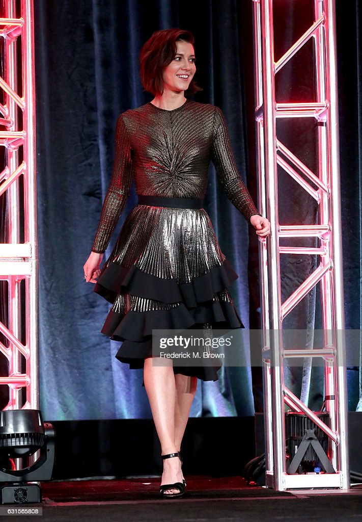 Actress Mary Elizabeth Winstead of the television show 'Fargo' speaks onstage during the FX portion of the 2017 Winter Television Critics Association Press Tour at Langham Hotel on January 12, 2017 in Pasadena, California