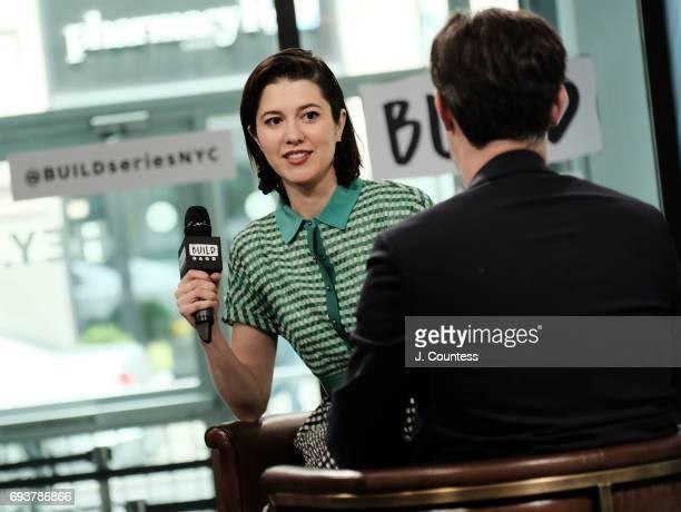 Actress Mary Elizabeth Winstead speaks during Build Presents Mary Elizabeth Winstead Discussing Fargoat Build Studio on June 8 2017 in New York City