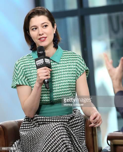 Actress Mary Elizabeth Winstead speaks on stage during Build presents Mary Elizabeth Winstead discussing Fargo at Build Studio on June 8 2017 in New...