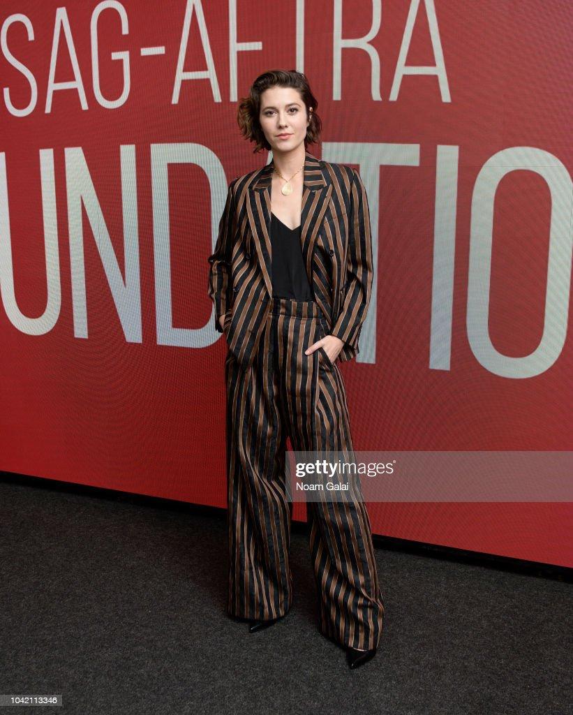 "SAG-AFTRA Foundation Conversations: ""All About Nina"" : News Photo"