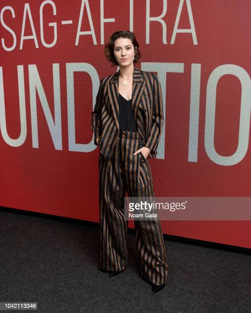 Actress Mary Elizabeth Winstead visits SAGAFTRA Foundation to discuss All About Nina at The Robin Williams Center on September 27 2018 in New York...