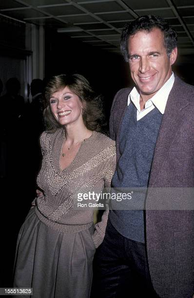 Actress Mary Frann and date John Cookman Jr attend the screening of The Year of Living Dangerously on January 26 1983 at MGM Studios in Culver City...