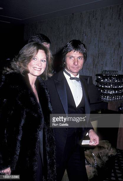 Actress Mary Frann and husband TJ Escott attend Fourth Annual Media Awards on February 4 1982 at the Century Plaza Hotel in Century City California