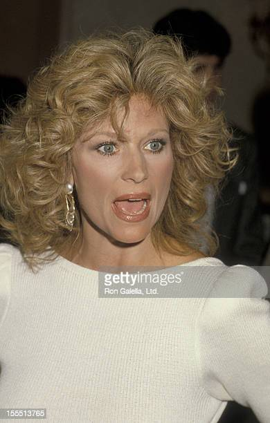 Actress Mary Frann attends 22nd Annual Publicist's Guild of America Awards on March 22 1985 at the Beverly Hilton Hotel in Beverly Hills California