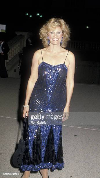 Actress Mary Frann attends 37th Annual Primetime Emmy Awards on September 22 1985 at the Pasadena Civic Auditorium in Pasadena California