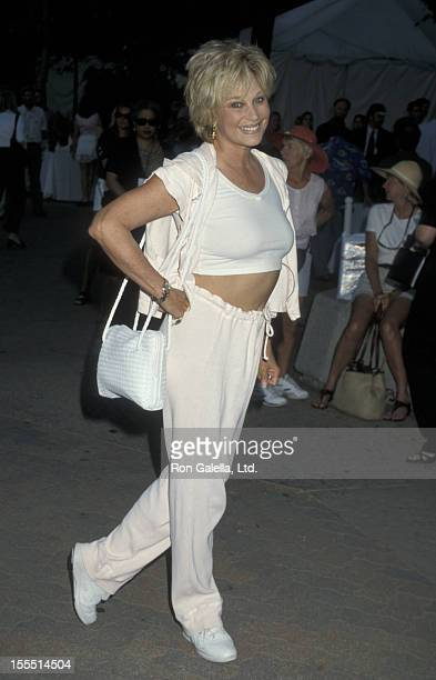 Actress Mary Frann attends An Evening at the Net Benefit on July 27 1998 at the Los Angeles Tennis Center in Los Angeles California