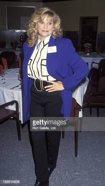 Actress Mary Frann attends First Annual Women Helping Women Luncheon on May 2 1993 at the Los Angeles Mission in Los Angeles California
