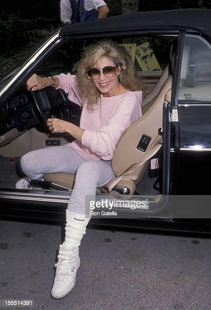 Actress Mary Frann attends McLaren Children's Hospital Benefit on March 10 1990 at Henry Winkler's home in Toluca Lake California