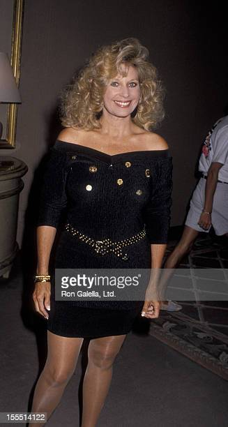 Actress Mary Frann attends NBC Fall Press Tour on July 18 1990 at the Century Plaza Hotel in Century City California