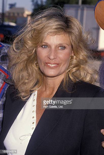 Actress Mary Frann attends Ringling Brothers Circus Performance on July 31 1990 at the Los Angeles Sports Arena in Los Angeles California