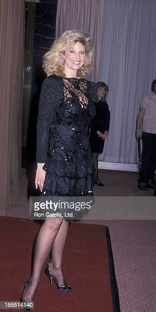 Actress Mary Frann attends Starlight Foundation Awards Gala on February 23 1989 at the Waldorf Hotel in New York City