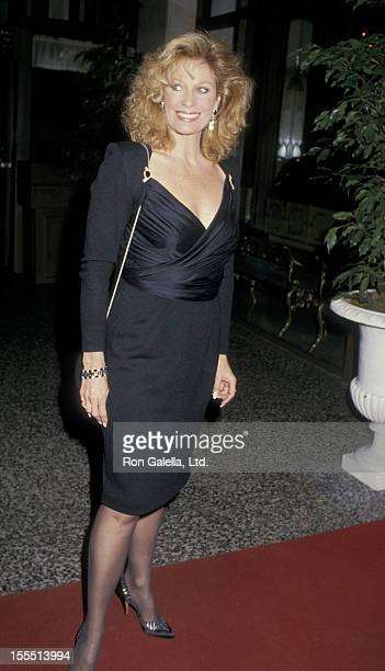 Actress Mary Frann attends the fundraising benefit for St John's Hospital on January 14 1988 at the Beverly Wilshire Hotel in Beverly Hills California