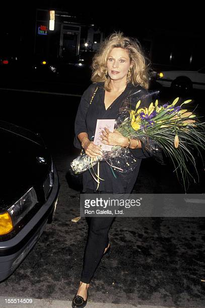 Actress Mary Frann attends the opening of Zastrozzi on September 11 1993 at the Beverly Hills Playhouse in Beverly Hills California
