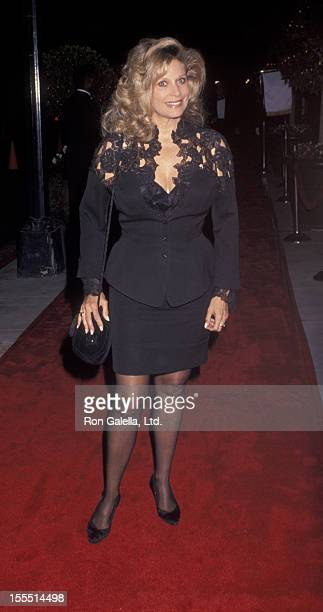 Actress Mary Frann attends the opening party for Escada on October 23 1991 at the Beverly Wilshire Hotel in Beverly Hills California