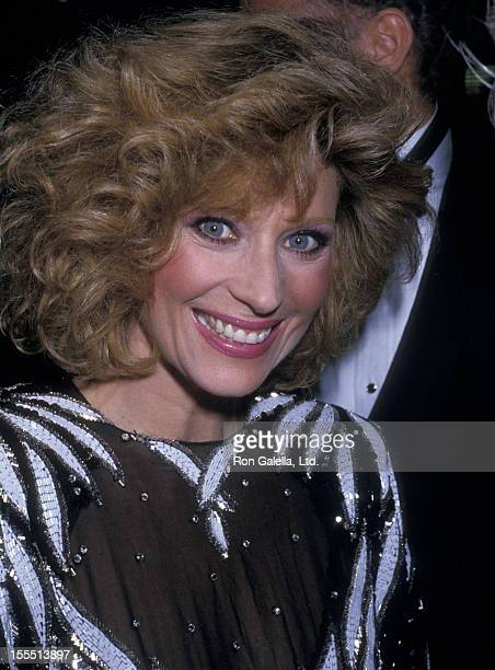 Actress Mary Frann attends the party for 13th Annual People's Choice Awards on March 15 1987 at Chasen's Restaurant in Beverly Hills California