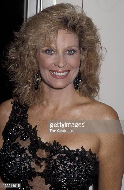 Actress Mary Frann attends Third Annual American Cinematheque Awards on May 6 1988 at the Century Plaza Hotel in Century City California